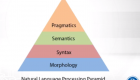 From top to bottom: Pragmatics, Semantics, Syntax, Morphology.